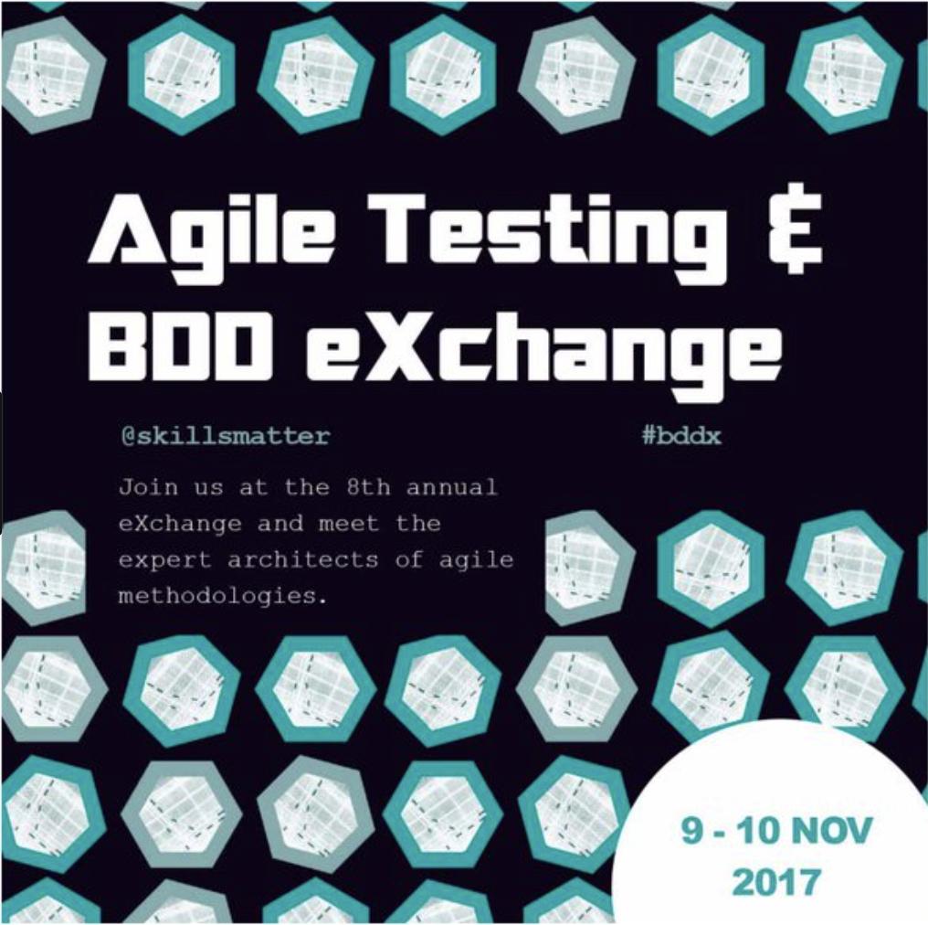 Agile & BDD eXchange 2017